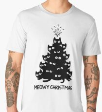 Meowy Christmas Men's Premium T-Shirt