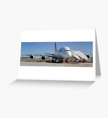 A380 Greeting Card