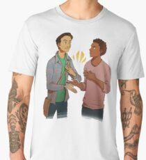 troy - He who so feeds on an entire corpus and still Men's Premium T-Shirt