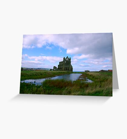 Whitby Abbey #1 Greeting Card