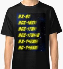 Chronological Starship Classification Classic T-Shirt