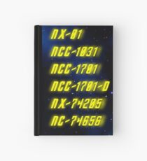Chronological Starship Classification Hardcover Journal