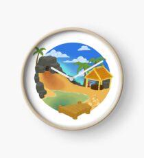Crystal Sands Clock