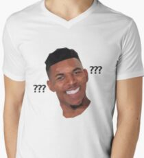 Low Poly Confused Nick Young Men's V-Neck T-Shirt