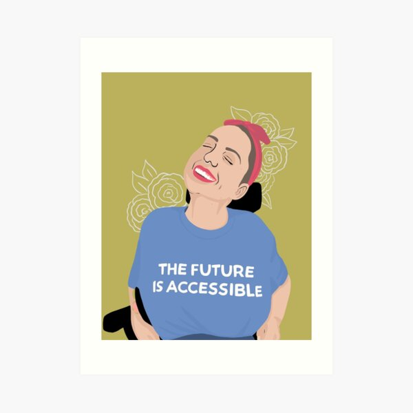 Accessible future  Art Print