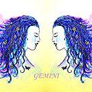 Mirror Image - Gemini by Linda Callaghan