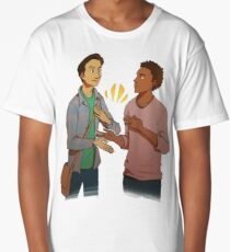 troy and abed - the morning show funny Long T-Shirt
