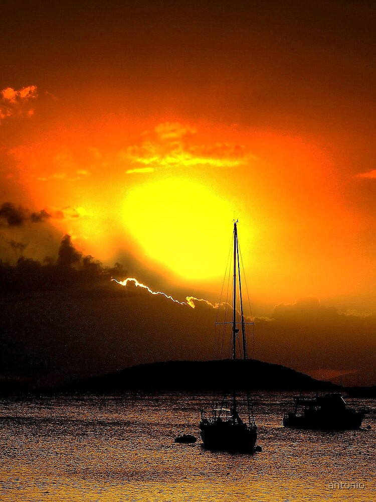 Fire in the Sky by antonio