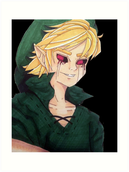 Ben Drowned Art Prints By Destotim Redbubble