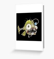 What's your angler? Greeting Card