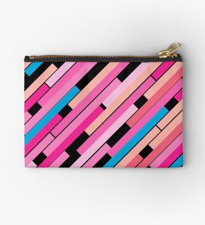 Linear Pink - Bauhaus Inspired Studio Pouch