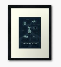 Thunder Road: An anatomy Framed Print