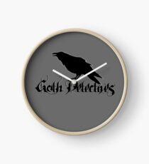 Goth Detectives Clock