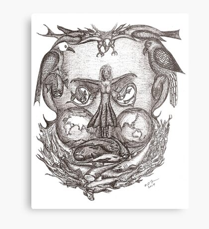 Expectations of the human mind Metal Print