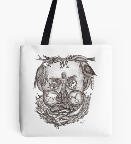 Expectations of the human mind Tote Bag