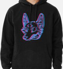 3D Space Coyote Pullover Hoodie