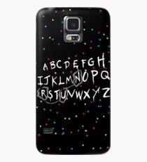 Alphabet - run! Case/Skin for Samsung Galaxy