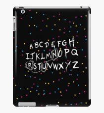 Alphabet - run! iPad Case/Skin