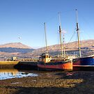 Moored on Loch Fyne at Inverary, Scotland by Christine Smith