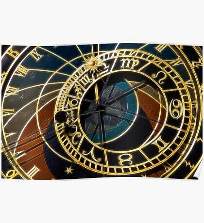 Astronomical Clock - Prague Poster