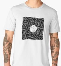 Celestial Body Behind Some Shapes Men's Premium T-Shirt