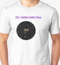 ESA Hubble smiley Face. Unisex T-Shirt