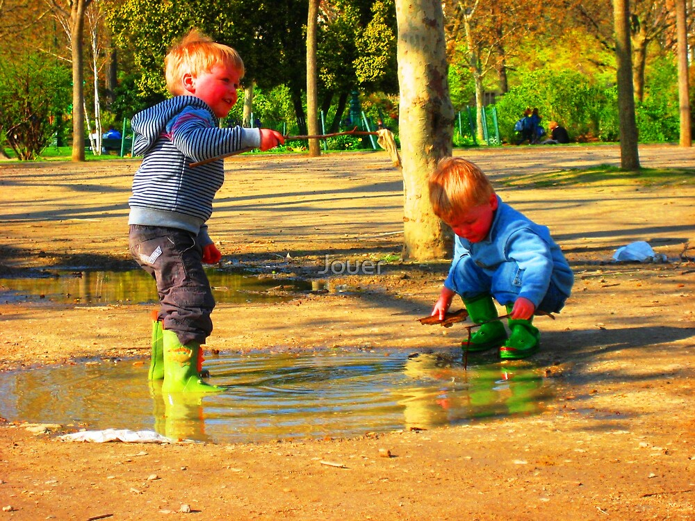 Childhood Innocence  by Jouer