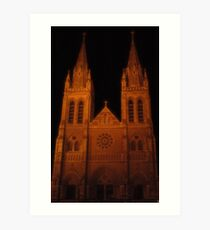 St Peters Cathedral Art Print