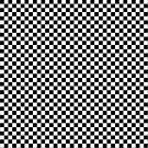 black white checkered by Falko Follert
