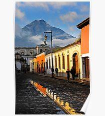 Antigua Morning Poster