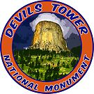 Devils Tower National Monument Wyoming Butte by MyHandmadeSigns