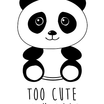 Too cute to handle panda by revoltz