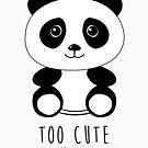 «Demasiado lindo para manejar el panda» de Luke Webster