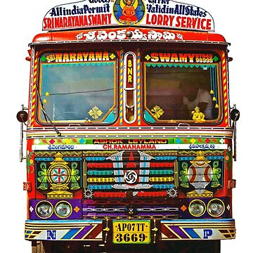 Indian truck art by bernys