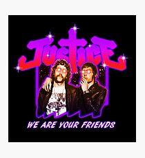 Justice Bootleg Photographic Print