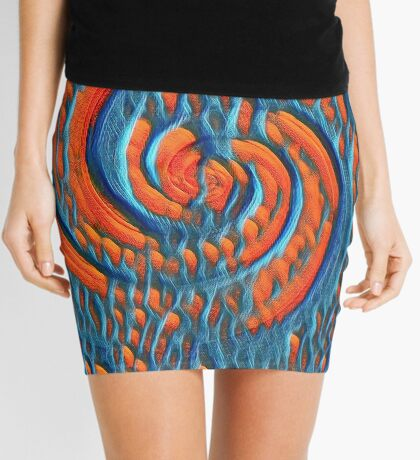 Broken Fibonacci Mini Skirt