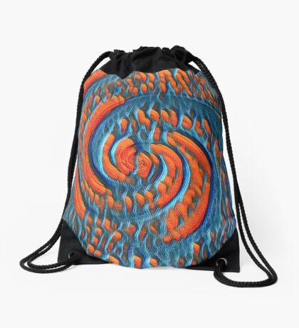 Broken Fibonacci Drawstring Bag