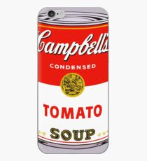 andy warhol campbell's soup can phone case iPhone Case