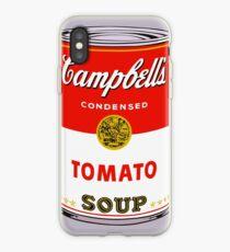 Vinilo o funda para iPhone la caja del teléfono de la sopa de andy warhol Campbell's