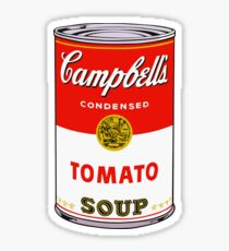 andy warhol campbell's soup can phone case Sticker
