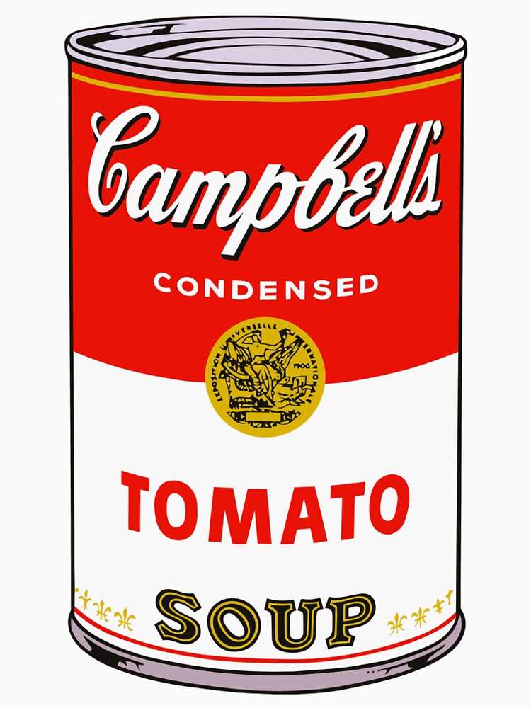 andy warhol campbell's soup can phone case by bernys