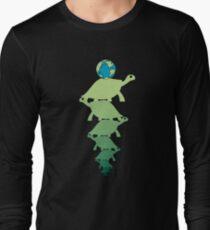 Turtles all the way down (ocd awareness) Long Sleeve T-Shirt