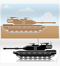 Military Tank Poster