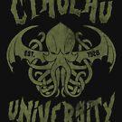 Cthulhu University by Arinesart