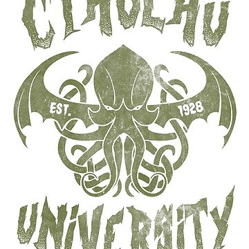 Cthulhu University by Arinesart