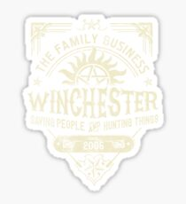 A Very Winchester Bussines Sticker