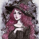 Peony witch by ARiAillustr