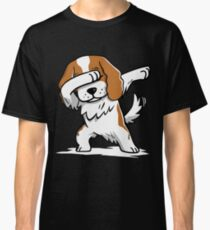 Dabbing Cavalier King Charles Spaniel Funny Classic T-Shirt