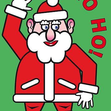 Christmas Santa Claus HO HO HO! 2.0  by RaSch
