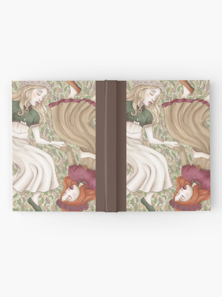 Alternate view of Snow White and Rose Red Hardcover Journal